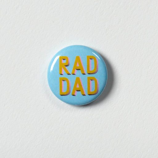 "Rad Dad 1"" Button"