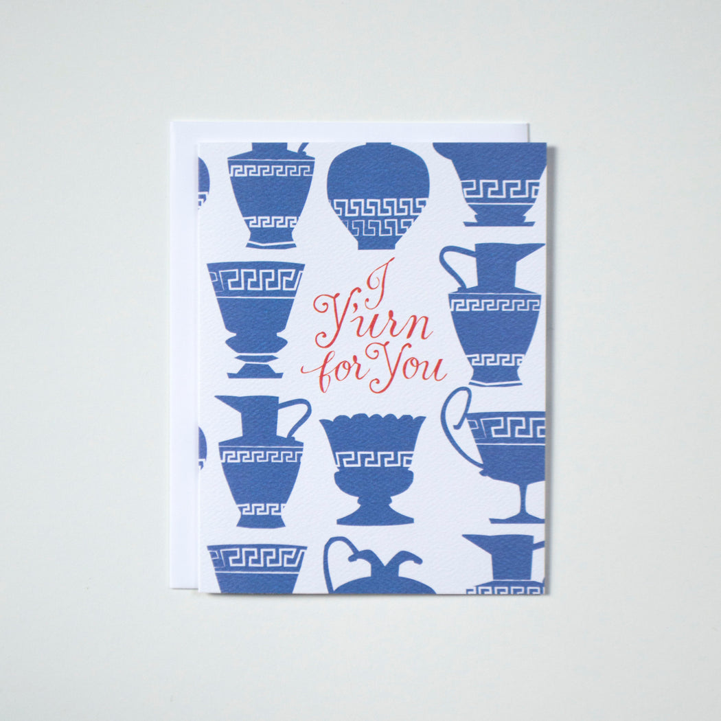 I Y'urn for You! Note Card
