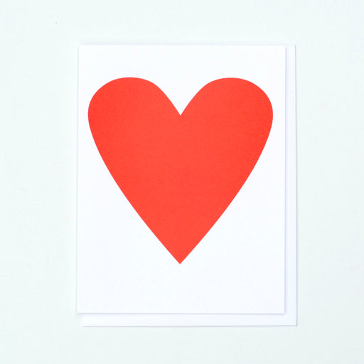 heart card, red heart card, heart