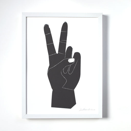 Peace Sign Art Print - Wall Art