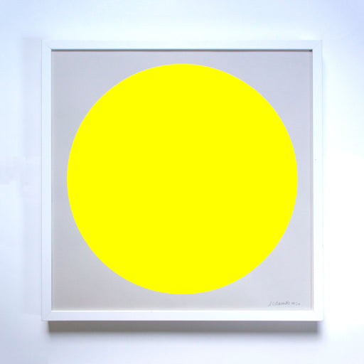 The Yellow Sun Screenprint