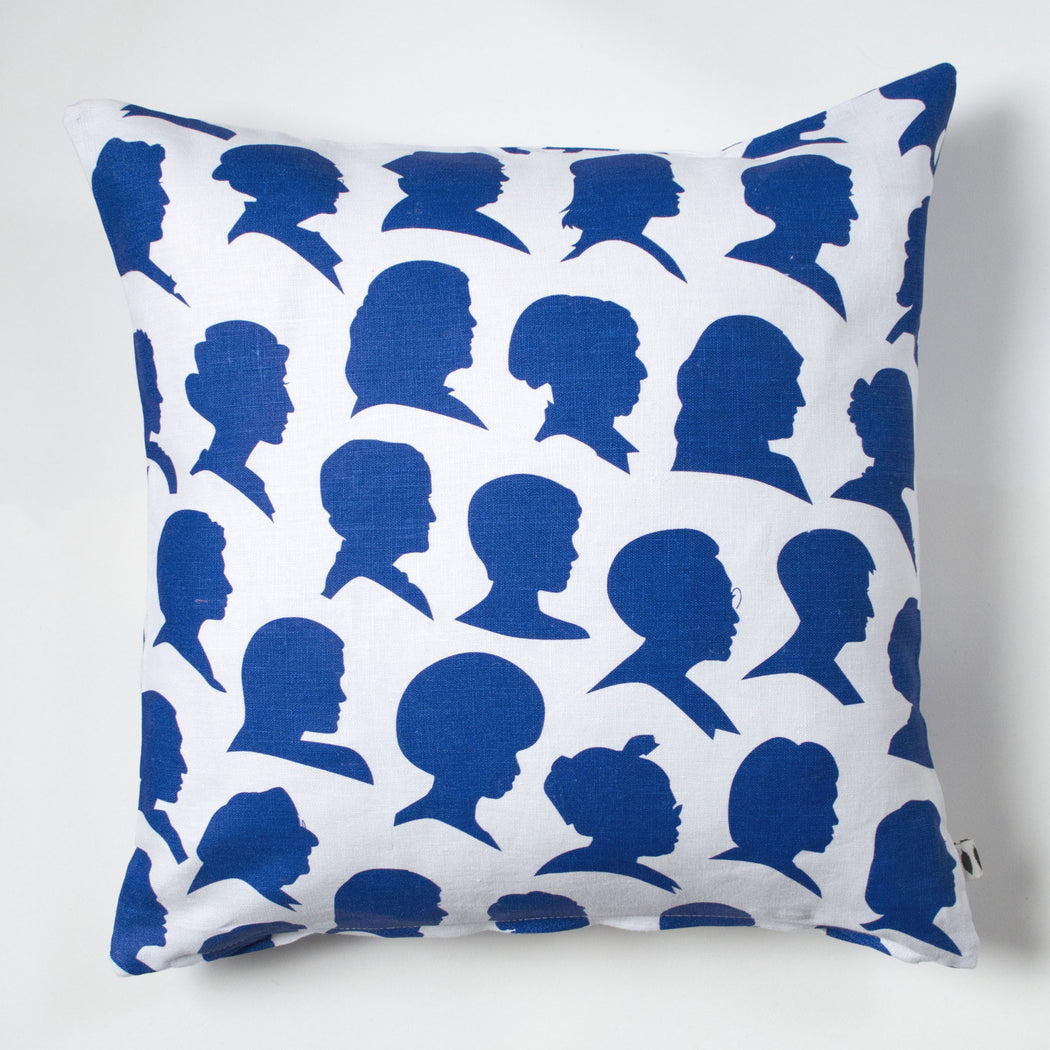 Radical Women screen printed linen pillow case
