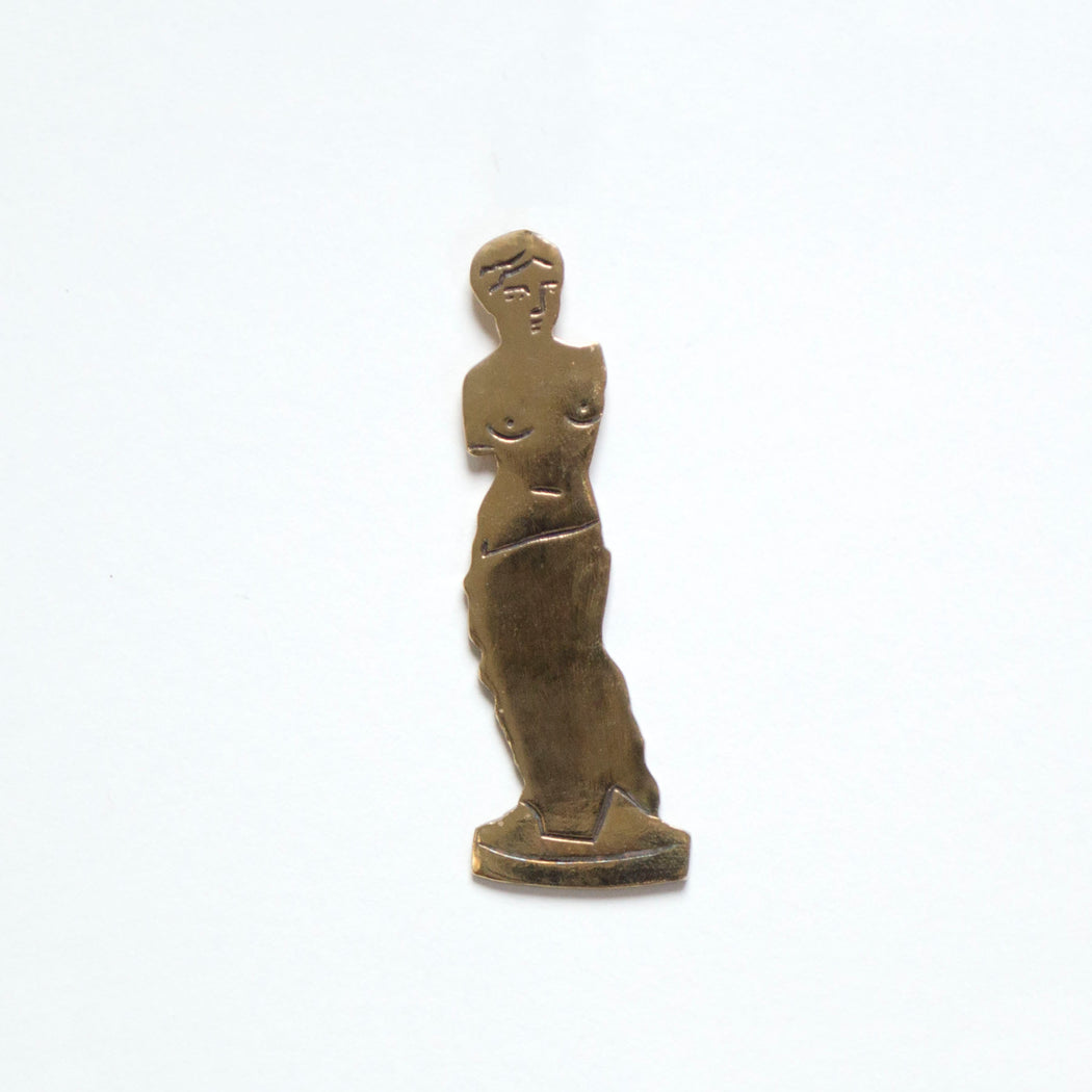 Bronze venus de Milo Pin from Banquet Workshop