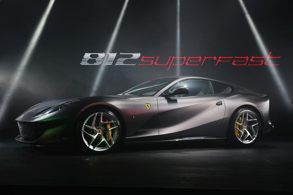 Photo by Michael Dodge/Getty Images The new-for-2018 812 Superfast is the quickest Ferrari in Prancing Horse history, reaching 60 mph in just 2.9 seconds.