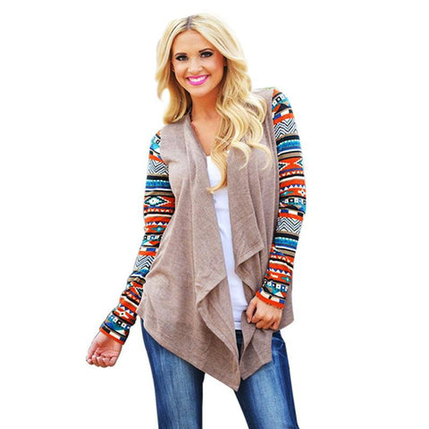Poncho style sweater/cardigan