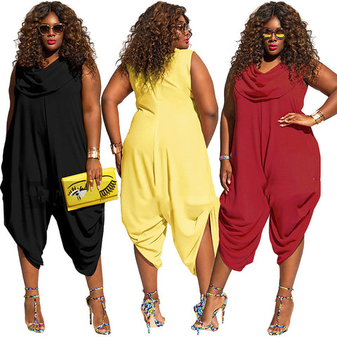 Summer womens chiffon jumpsuit