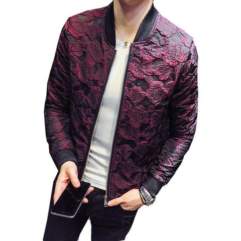 Luxury wine jacket