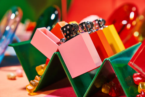 Color Block Lighters
