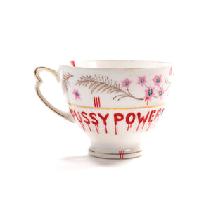 PUSSY POWER Teacup