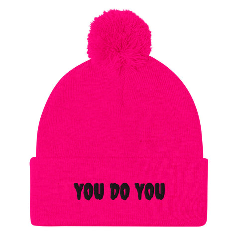 You Do You Neon Pom Beanie