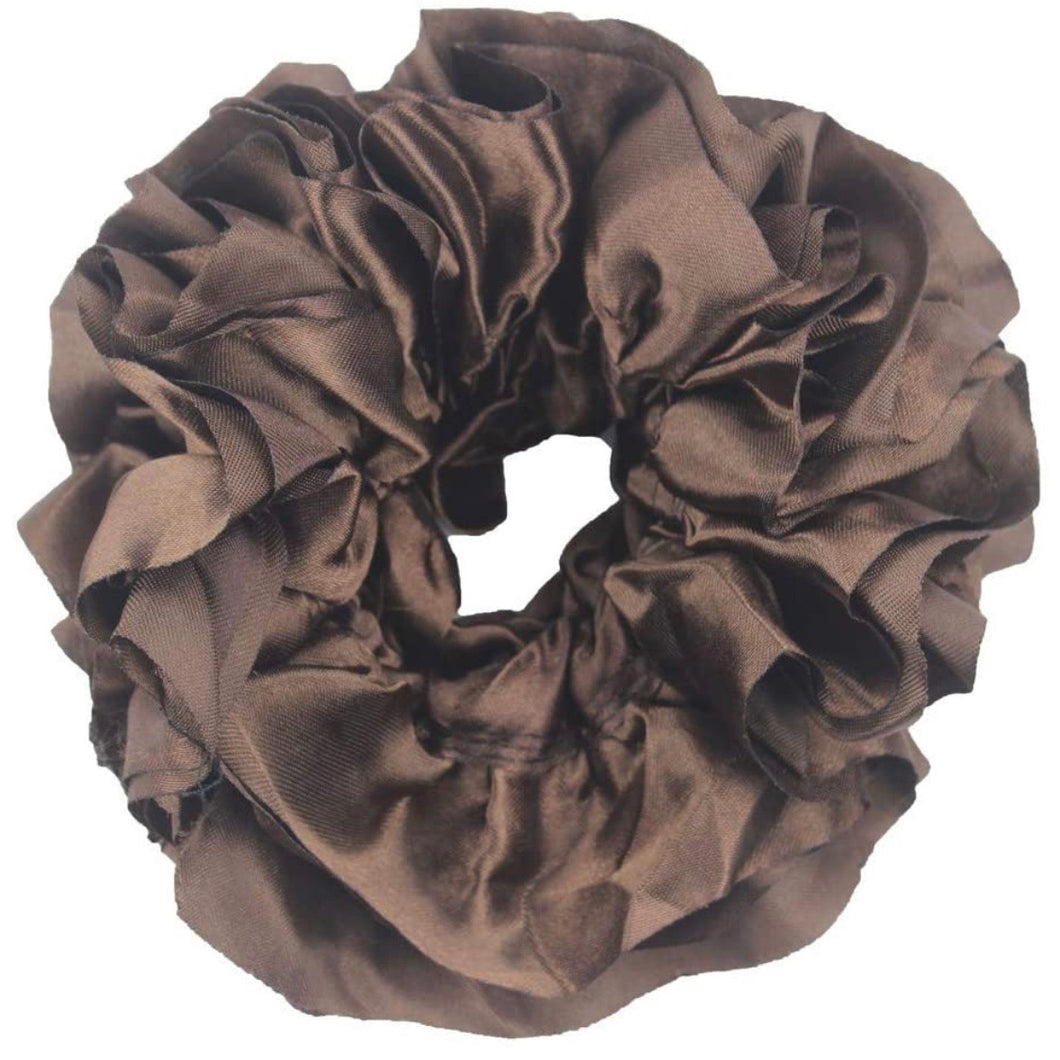 Brown - Volumizing Scrunchie