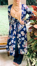Navy Blooming Beauty Maxi Cardigan
