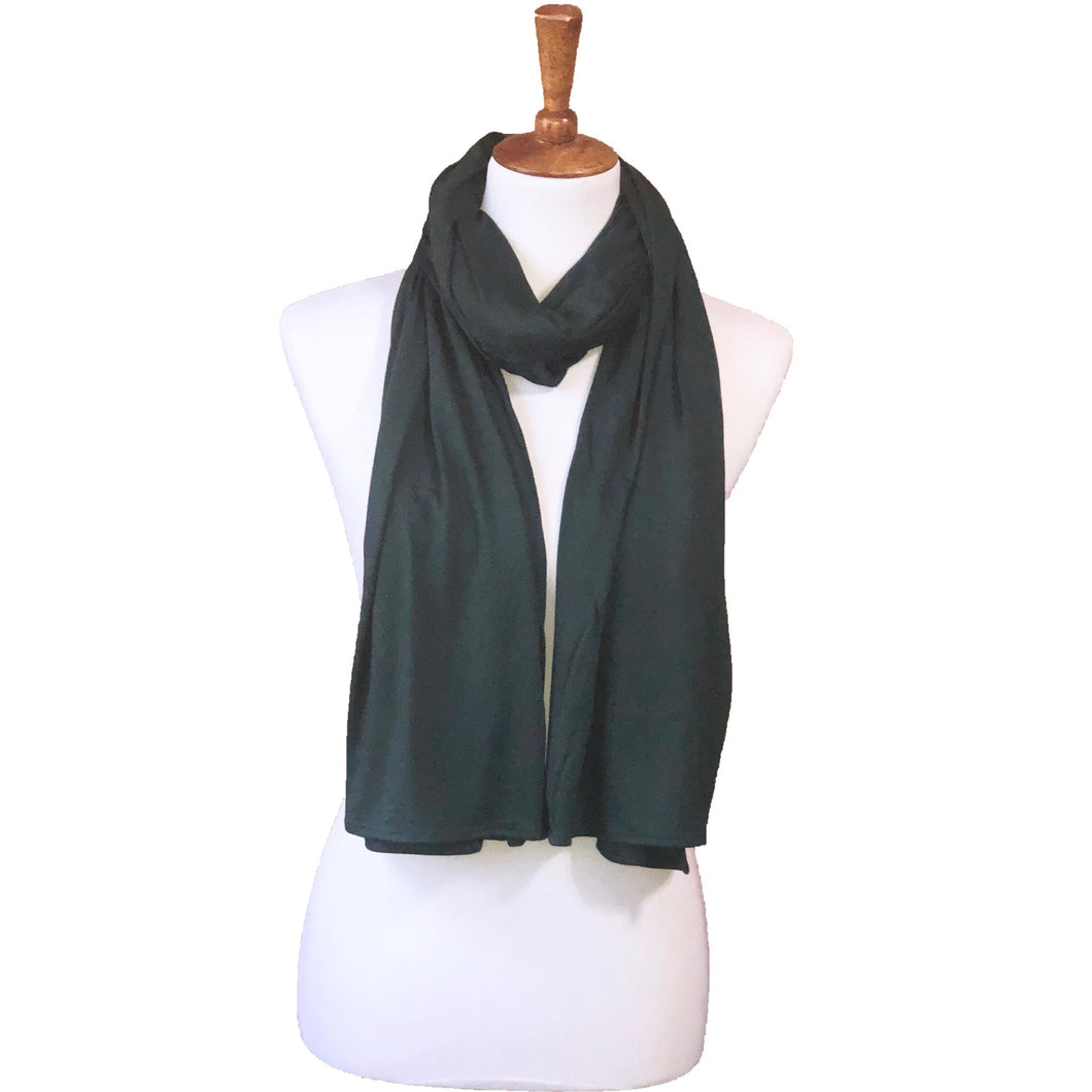 Hunter Green LUX Jersey Hijab