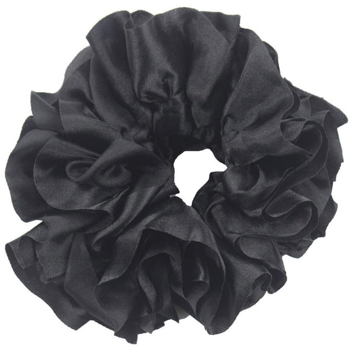 Black - Volumizing Scrunchie
