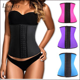 Steel Boned Corset 100% Latex Waist Trainer