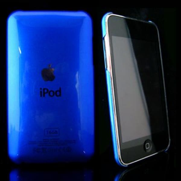 Blue Snap-On Hard Case Back Cover For IPod Touch 2 3