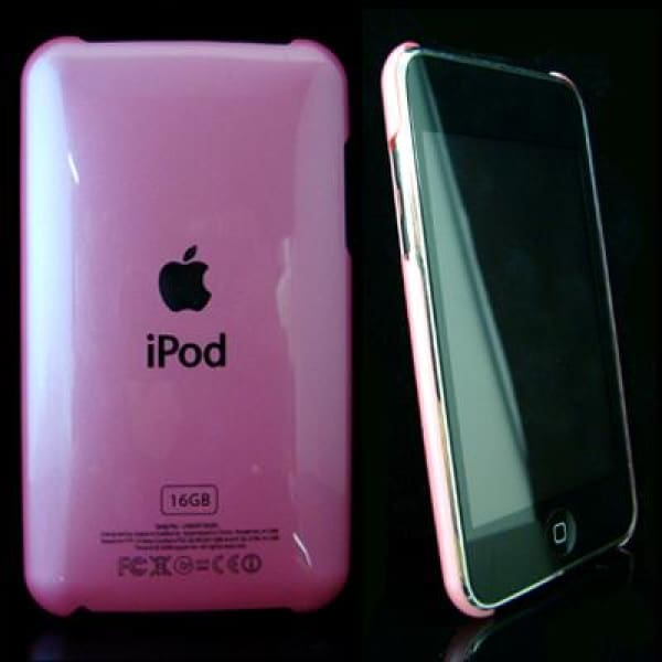 Pink Snap-On Hard Case Back Cover For IPod Touch 2 3