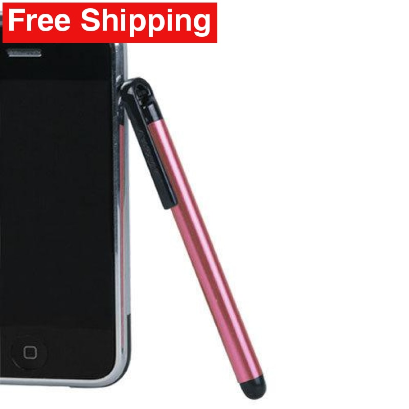 Stylus Pen for iPhone Smartphone iPod iPad - Pink - Free Shipping
