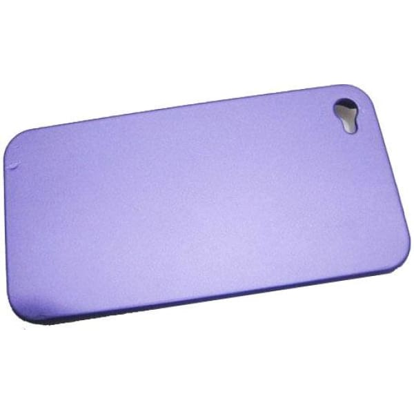 Snap-On iPhone Hard Case for iPhone 4 4G - Frosted Purple
