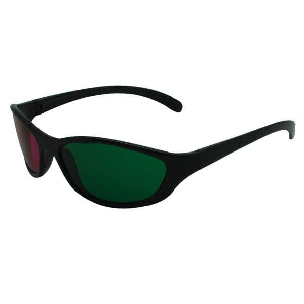 Green Red Plastic Framed 3 D Dimensional 3D Anaglyphs Glasses