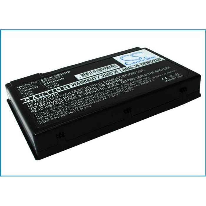 New Premium Notebook/Laptop Battery Replacements CS-AC3000HB