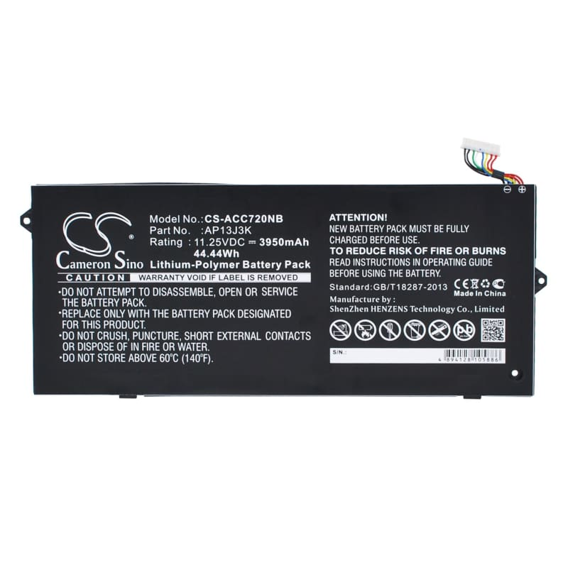 New Premium Notebook/Laptop Battery Replacements CS-ACC720NB
