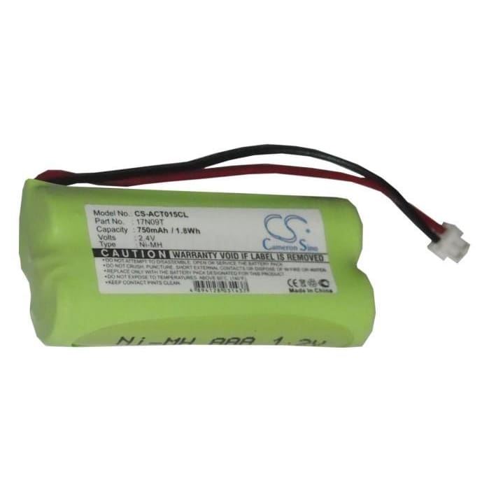 New Premium Cordless Phone Battery Replacements CS-ACT015CL