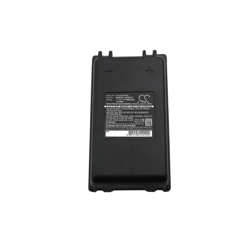 Premium Battery for Autec, Fua10 7.2V, 2000mAh - 14.40Wh