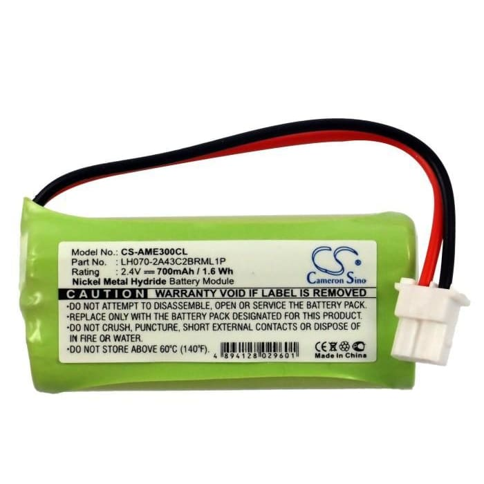 New Premium Cordless Phone Battery Replacements CS-AME300CL
