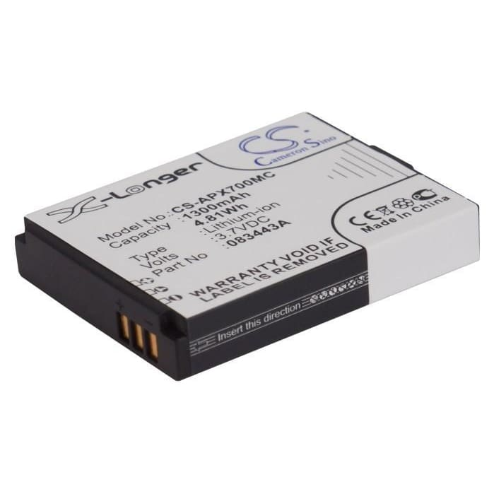 New Premium Camera Battery Replacements CS-APX700MC