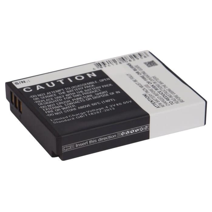 Premium Battery for Actionpro Isaw A1, Isaw A2 3.7V, 1300mAh - 4.81Wh