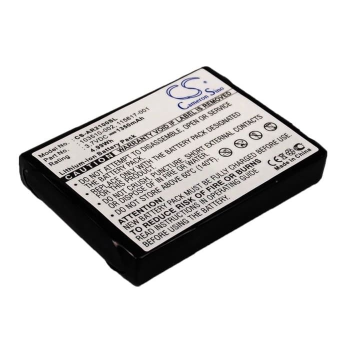 New Premium PDA/Pocket PC Battery Replacements CS-AR2100SL