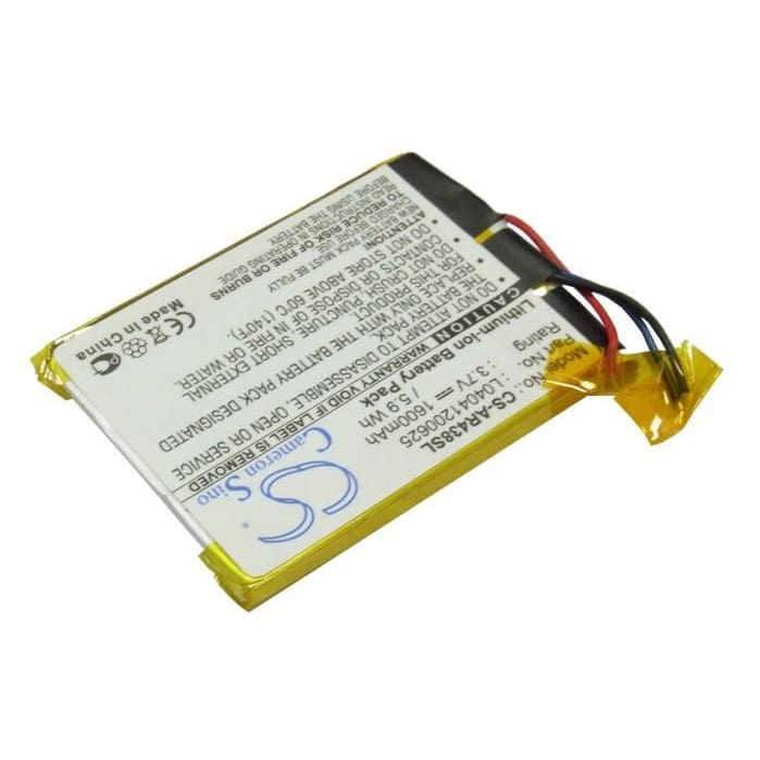 Premium Battery for Archos 43 Internet Tablet, A43it, A43it 8gb 3.7V, 1600mAh - 5.92Wh