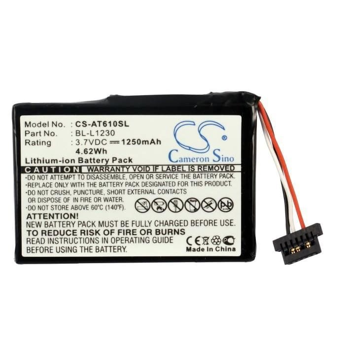 Premium Battery for Airis T610, T620, T920 3.7V, 1250mAh - 4.63Wh