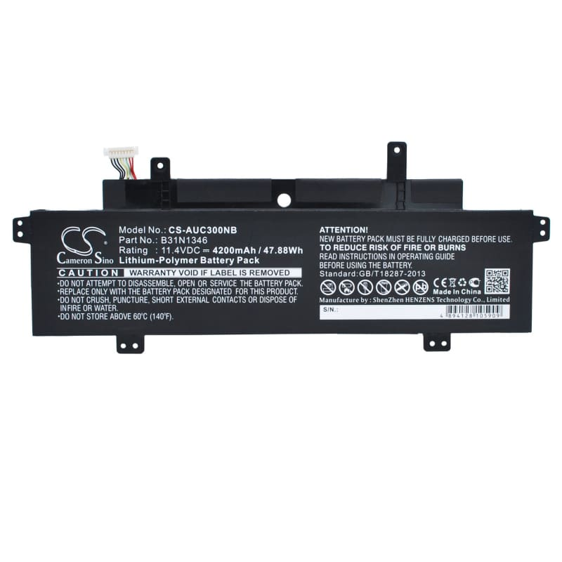 New Premium Notebook/Laptop Battery Replacements CS-AUC300NB