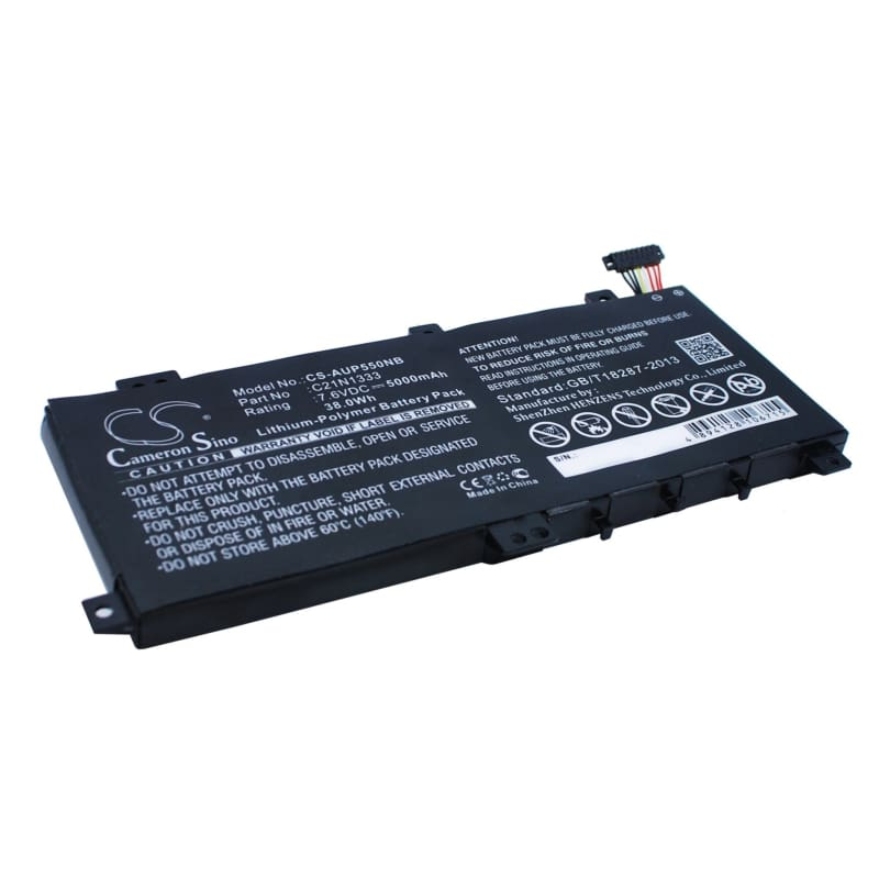 New Premium Notebook/Laptop Battery Replacements CS-AUP550NB