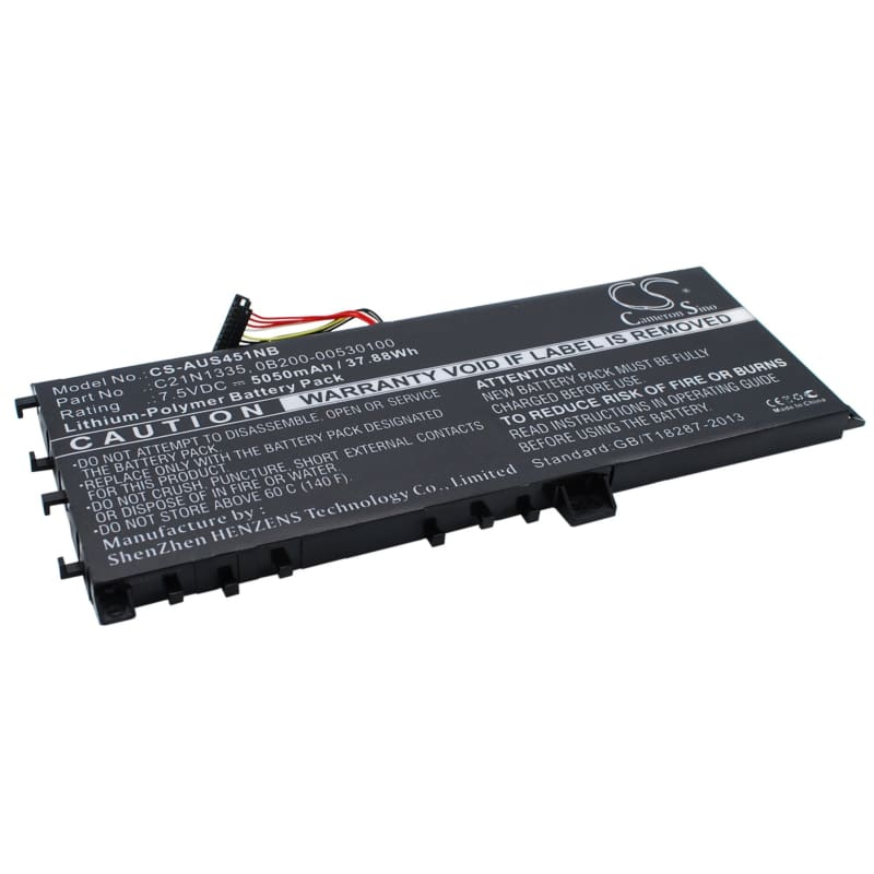 New Premium Notebook/Laptop Battery Replacements CS-AUS451NB