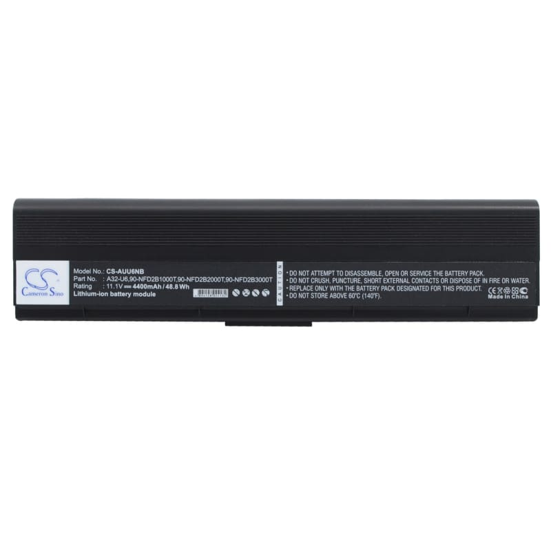 New Premium Notebook/Laptop Battery Replacements CS-AUU6NB