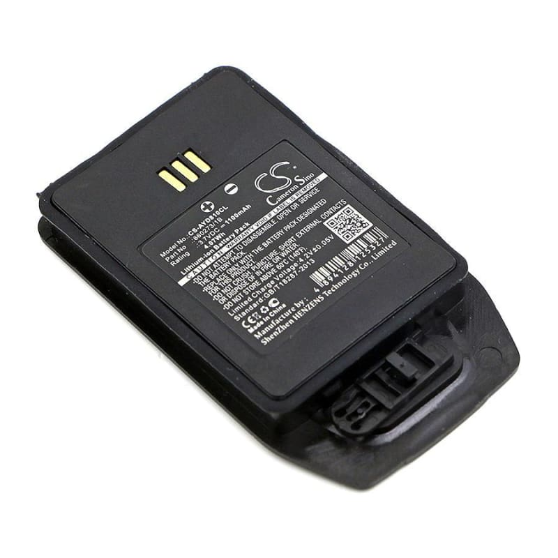 Premium Battery for Aastra, Dt413, Dt423 3.7V, 1100mAh - 4.07Wh