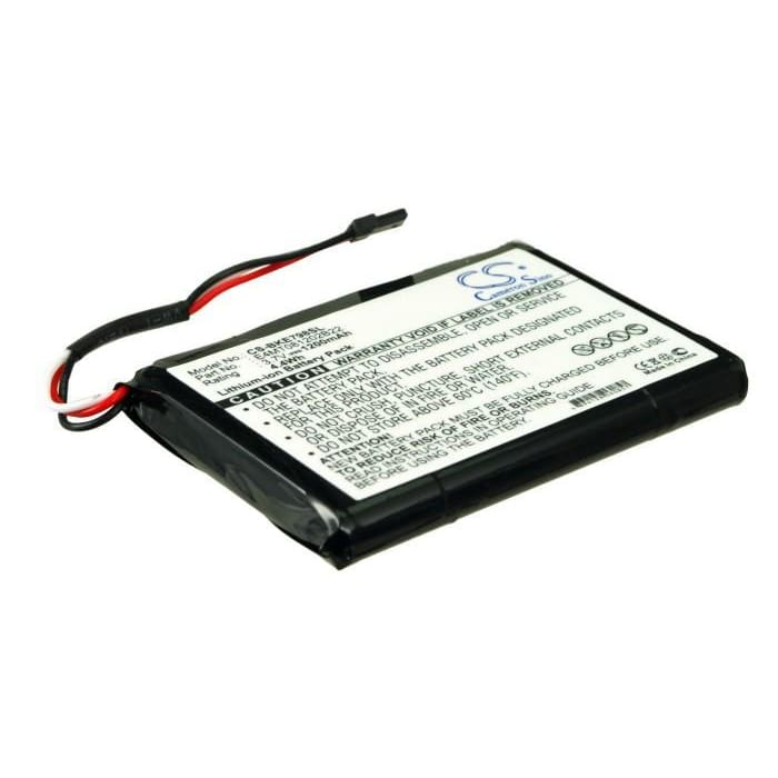 Premium Battery for Becker Be7934, Be7988, Traffic Assist 7934 3.7V, 1200mAh - 4.44Wh