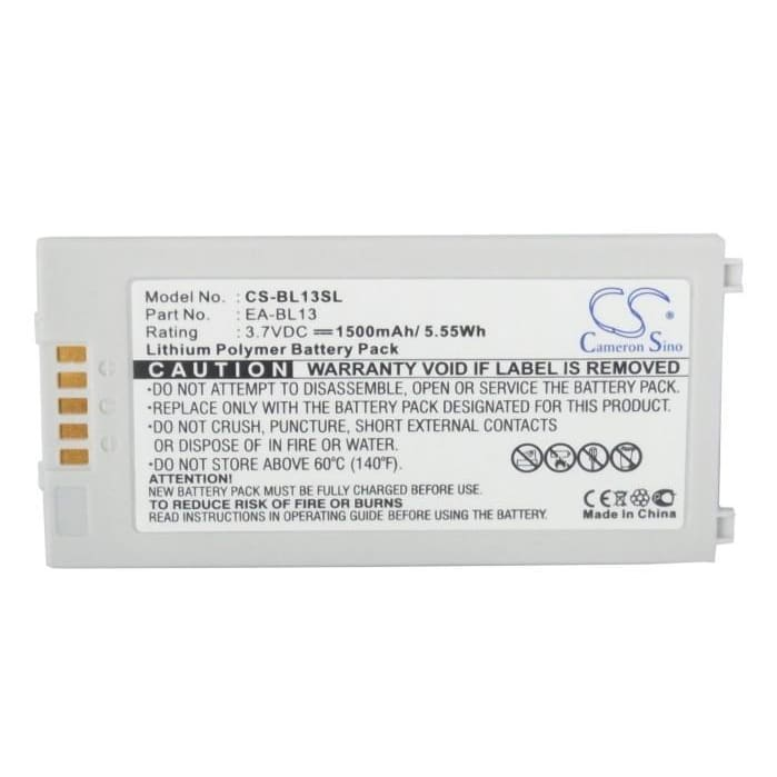 Premium Battery for Sharp W-ZERO3[es], WS007SH, WS011SH 3.7V, 1500mAh - 5.55Wh