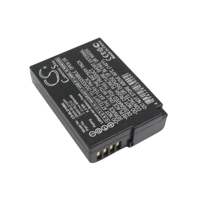 Premium Battery for Panasonic Lumix Dmc-gf2ks, Lumix Dmc-g3, 7.4V, 850mAh - 6.29Wh