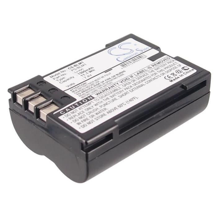 Premium Battery for Olympus C-7070, C-8080 Wide Zoom, 7.4V, 1500mAh - 11.10Wh
