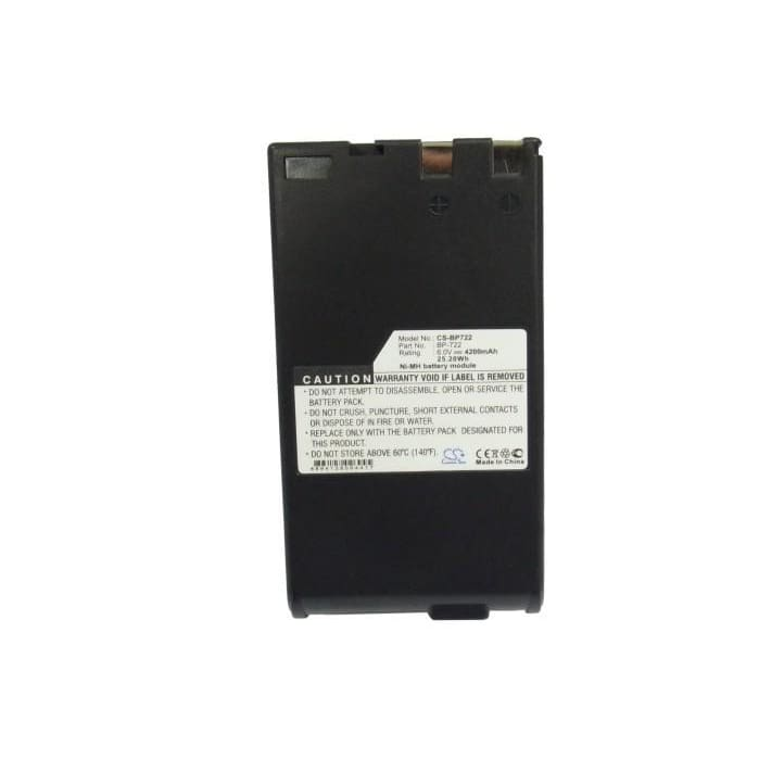 Premium Battery for Canon E06, E07, E08, E09, 6V, 4200mAh - 25.20Wh