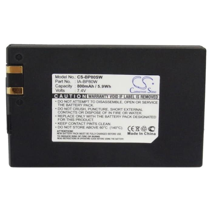 Premium Battery for Samsung Sc-d385, Sc-dx103, Vp-d381, Vp-d38li, 7.4V, 800mAh - 5.92Wh