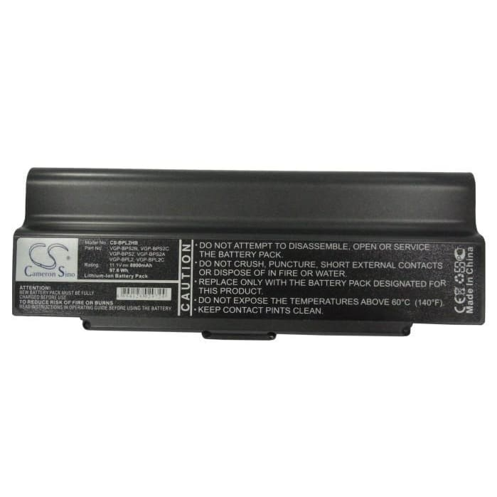 New Premium Notebook/Laptop Battery Replacements CS-BPL2HB