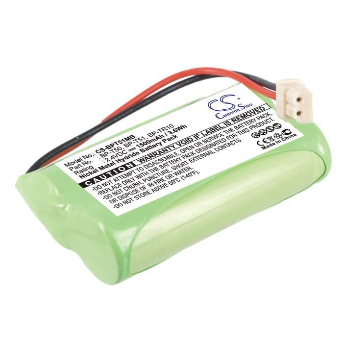Premium Battery for Fisher, M6163 2.4V, 1500mAh - 3.60Wh