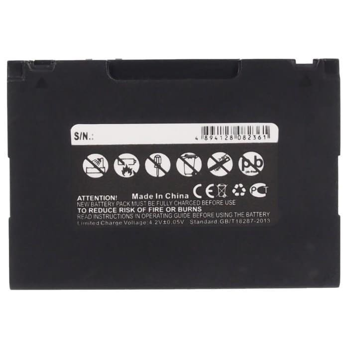 Premium Battery for Blaupunkt Lucca 5.3 3.7V, 2400mAh - 8.88Wh