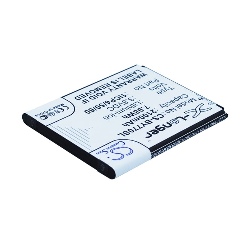 Premium Battery for Beurer, 952.62, 952-62, By77 3.8V, 2100mAh - 7.98Wh