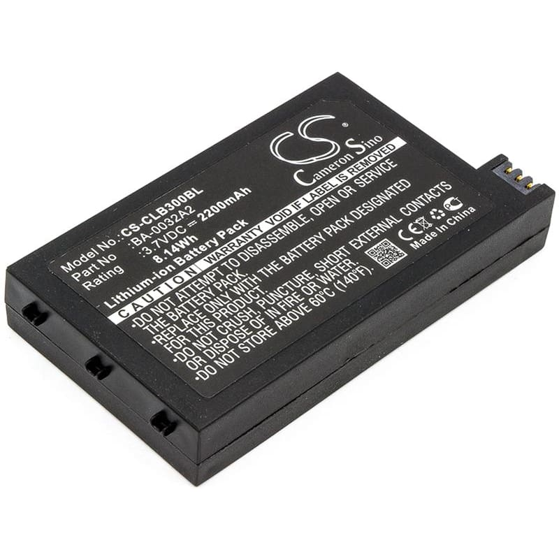 Premium Battery for Cipherlab, Cp30, Cp30-l, Cp50 3.7V, 2200mAh - 8.14Wh